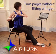 Turn pages without lifting a finger.