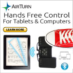 AirTurn Introduces the new DUO! Better Price, Better Wireless Controller for your iPad or Tablet.